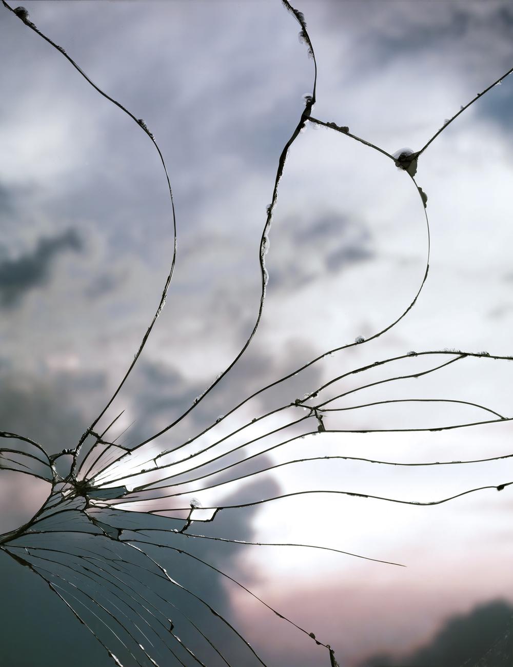 Bing Wright - Broken Mirror Evening Sky (Rozbité zrcadlo a večerní obloha)