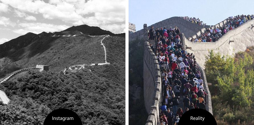instagram vs. realita