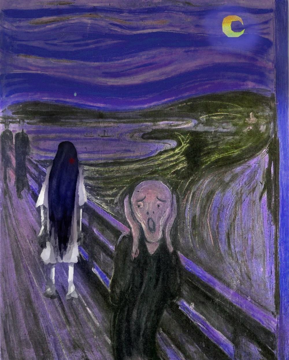 The-Scream-Painting-at-Night-with-Samara-79986