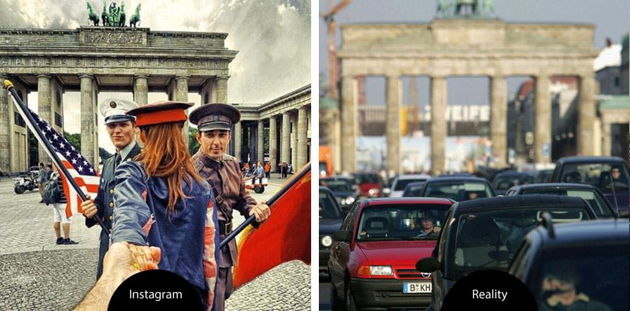 fotografie vs. realita