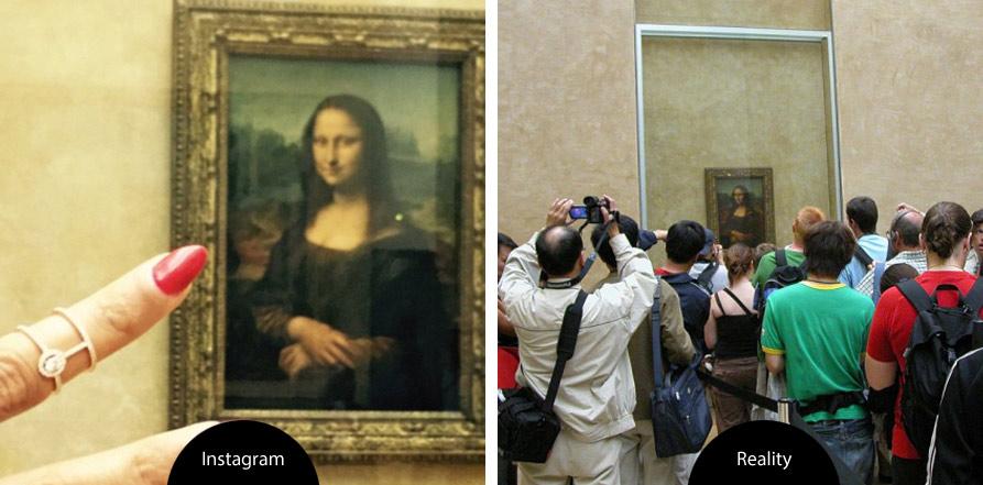 život versus fotografie