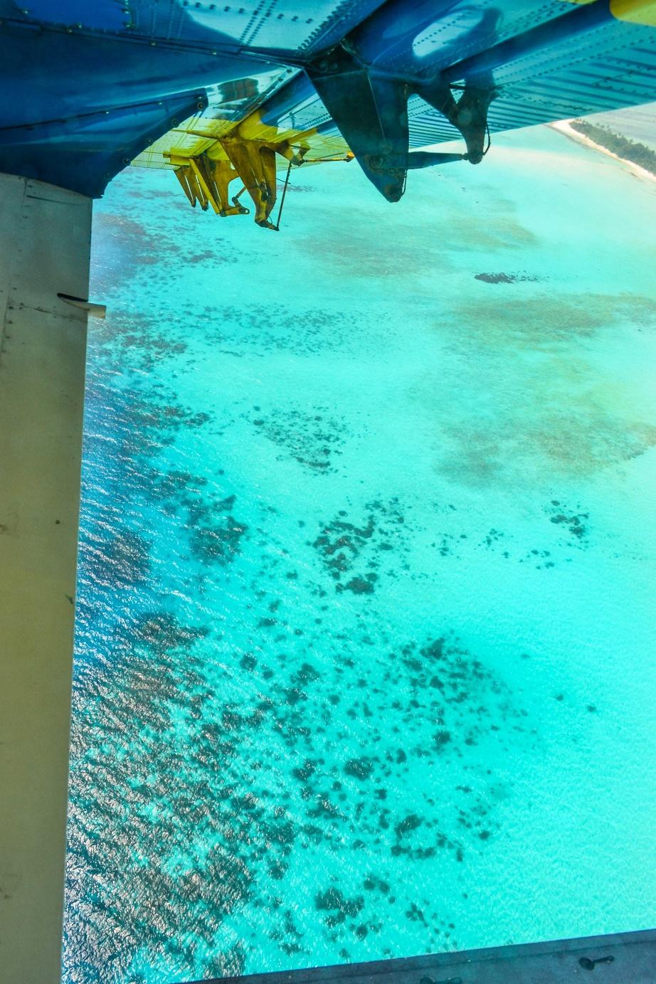 Seaplane, Maledivy