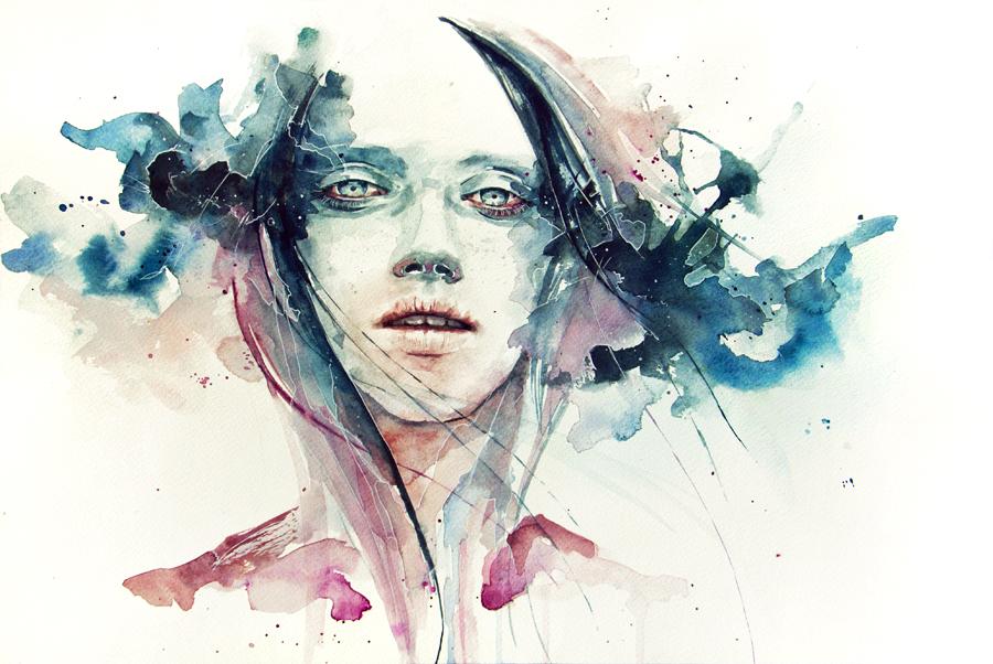 Výbuch emocí v akvarelech třiadvacetileté výtvarnice