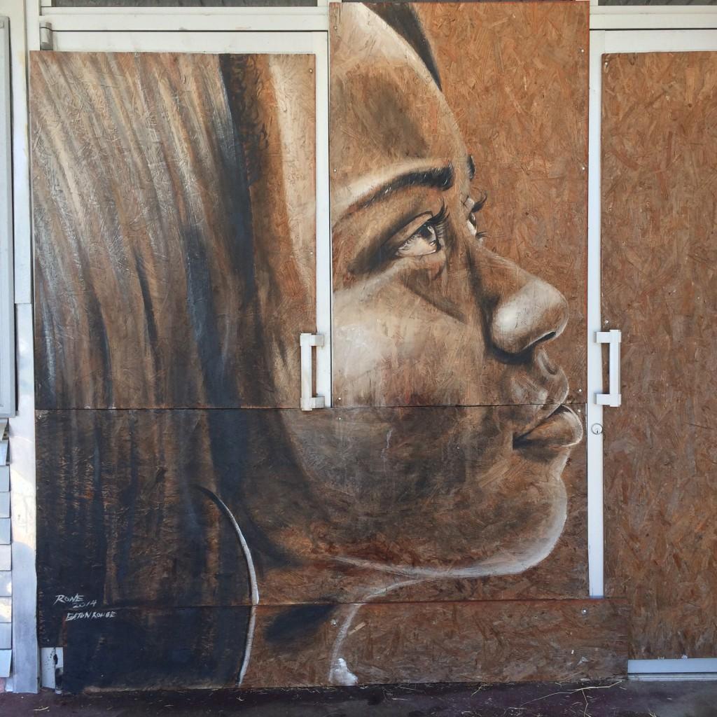 Rone street art Baton Rouge