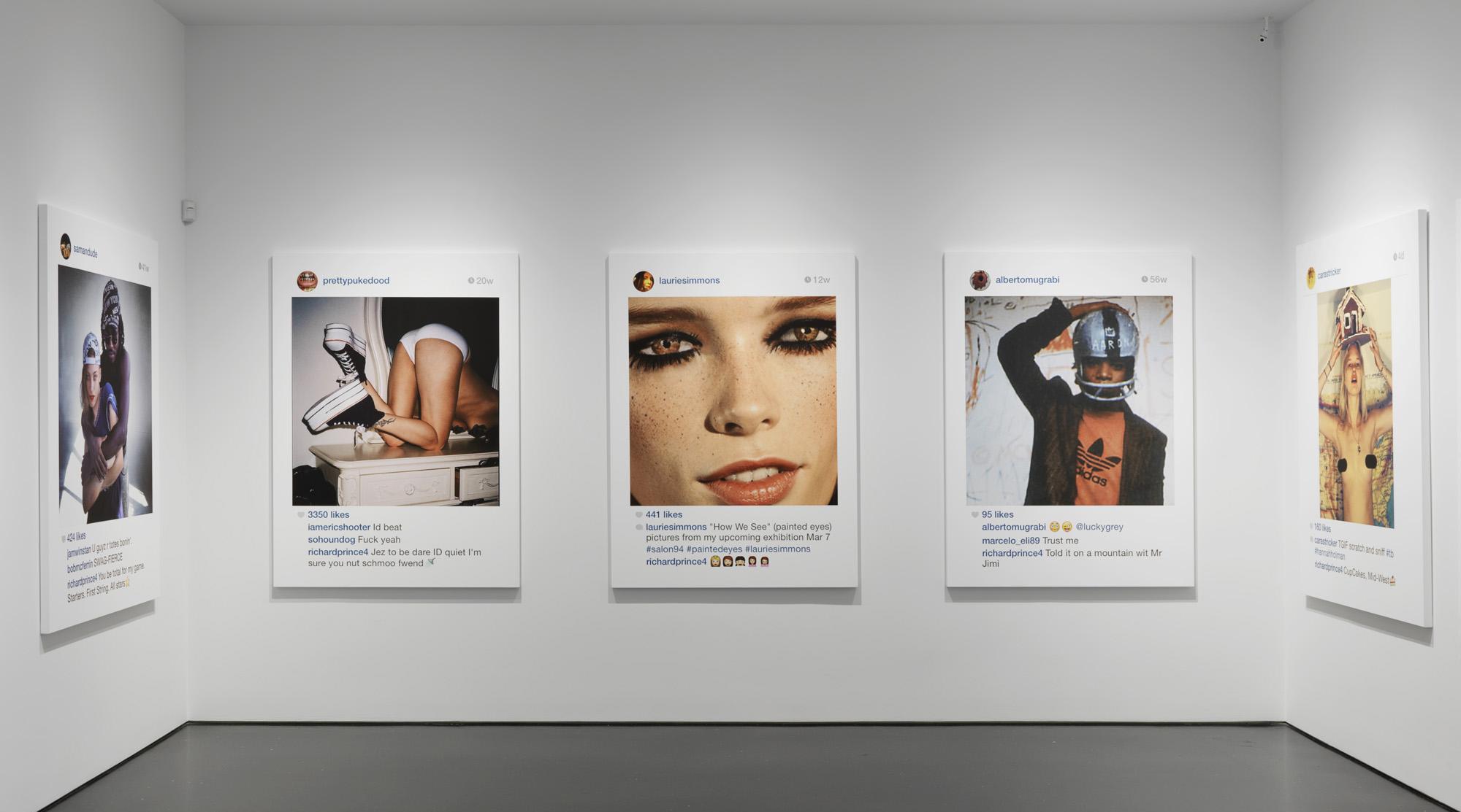 Kontroverzní umělec krade snímky z Instagramu a vydělává na nich jmění