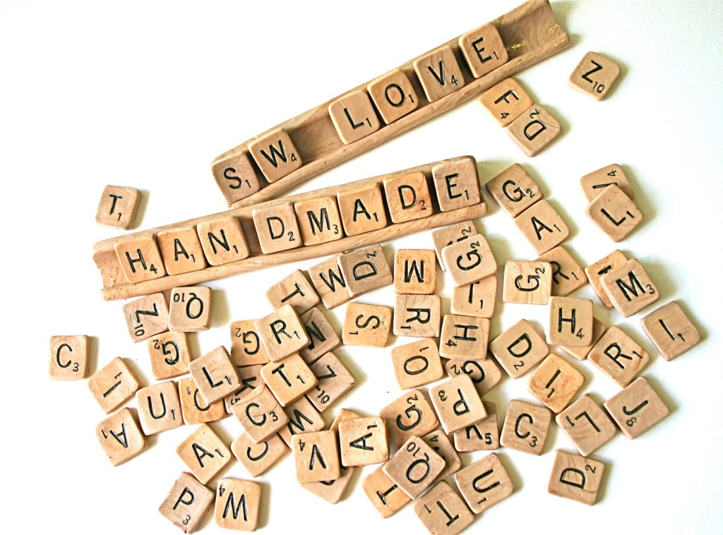 5 Candy scrabble