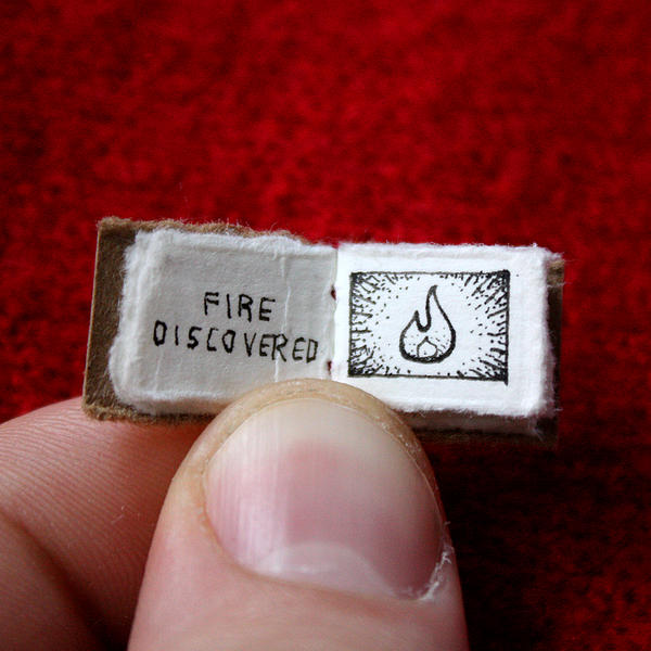 Objevení ohně