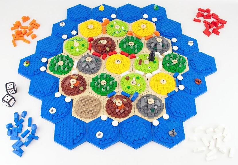 7 Lego Settlers