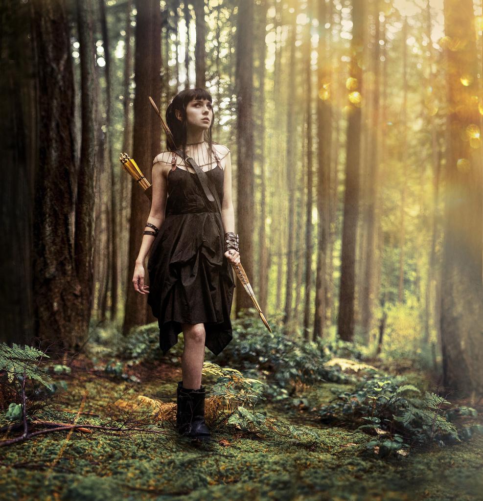 Vysněné světy v čarovných portrétech Kindry Nicole