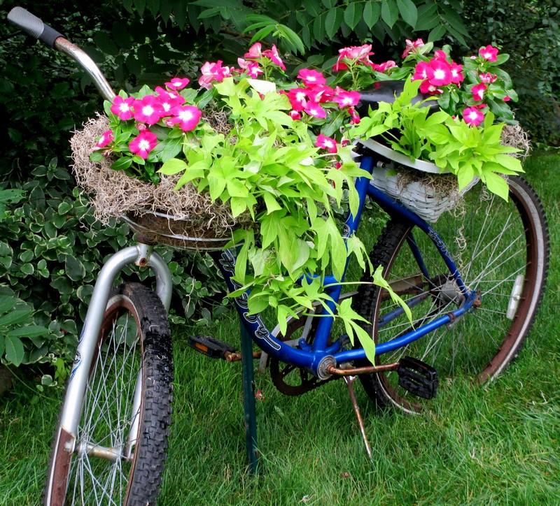 Bahçelerde-bisiklet-dekoru-7