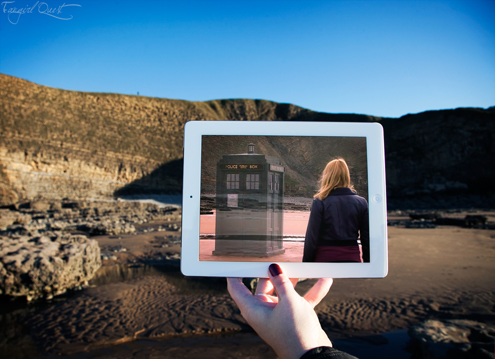 Doctor Who Dunraven Bay in Southerndown