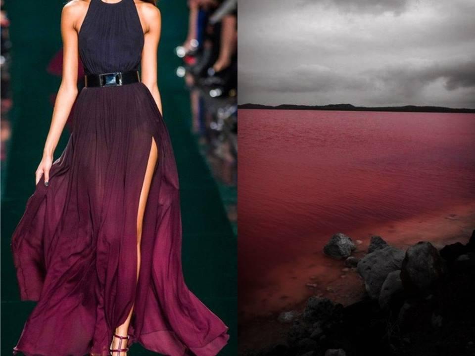Elie Saab F/W 2014/15 &  Jezero Pink v Austrálii