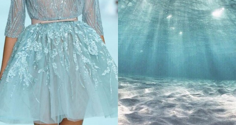 Elie Saab SS 2012 • & • Underwater sea world (2)