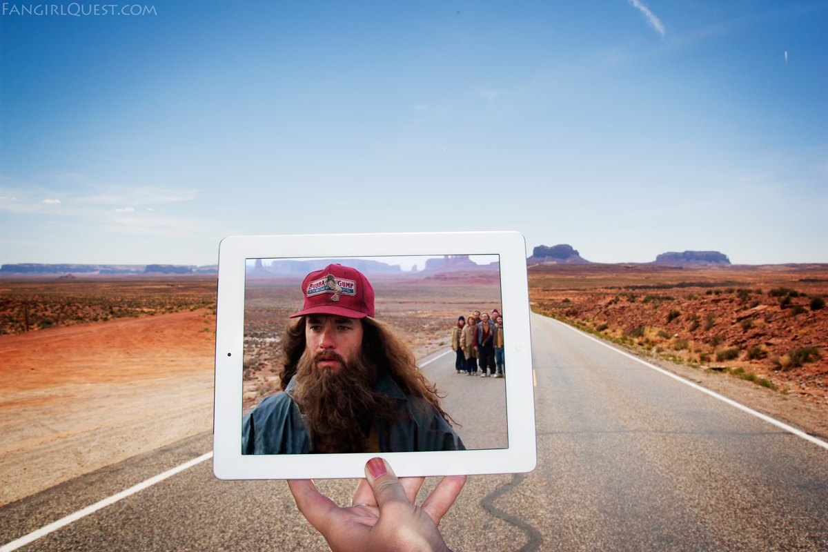 Forrest Gump - Monument Valley, Utah on Route 163