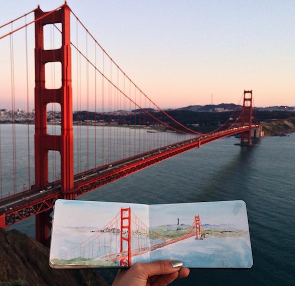 Golden Gate Bridge, Kalifornie