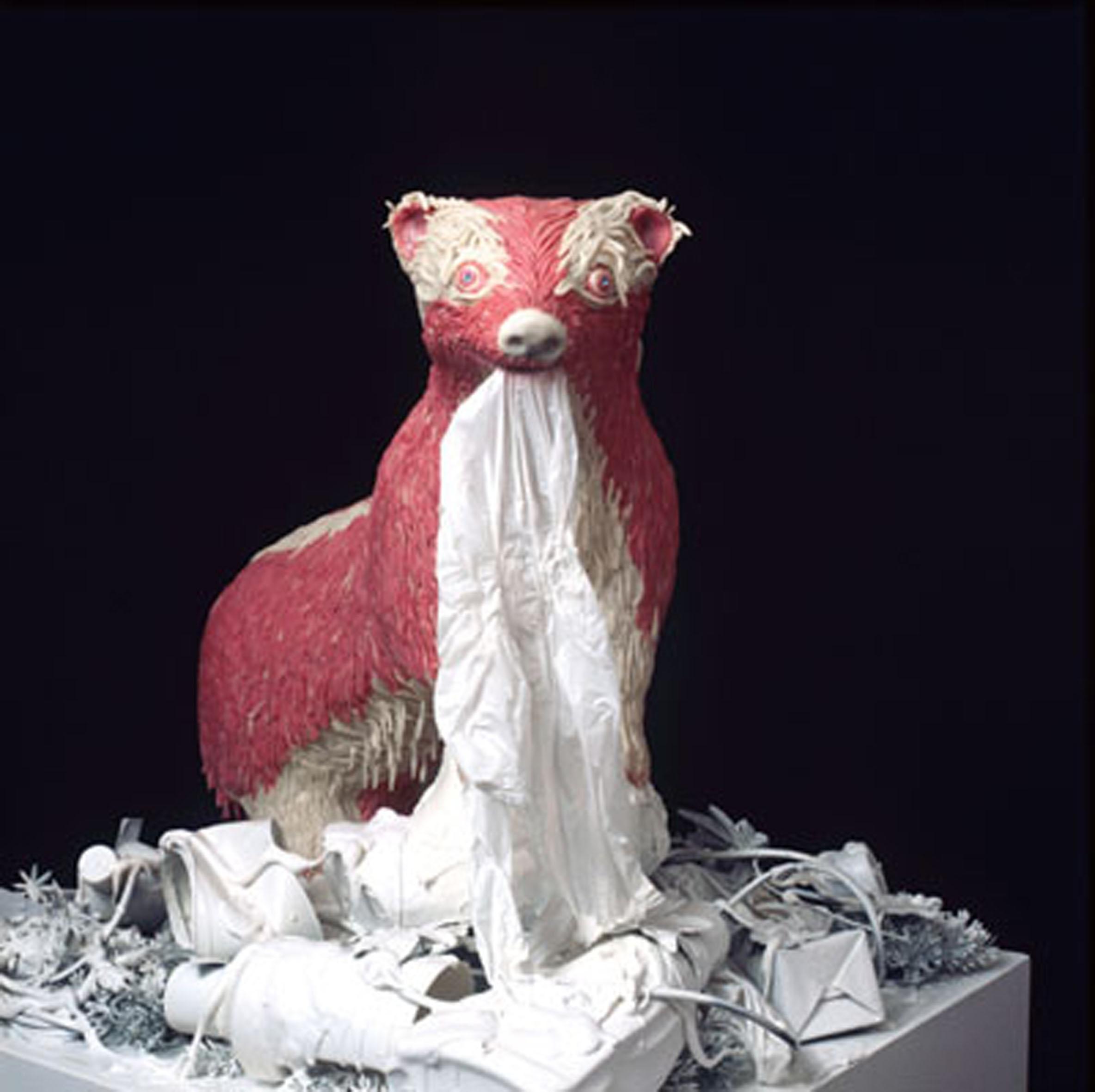 Maurizio Savini - sochy ze žvýkaček