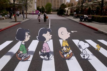 Peanut-Abbey-Road-Snoopy-Crosswalk