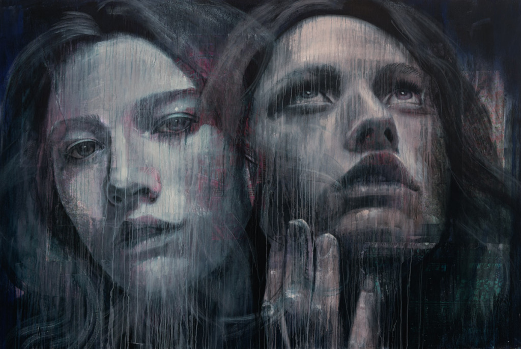 Rone street art Lumen canvas