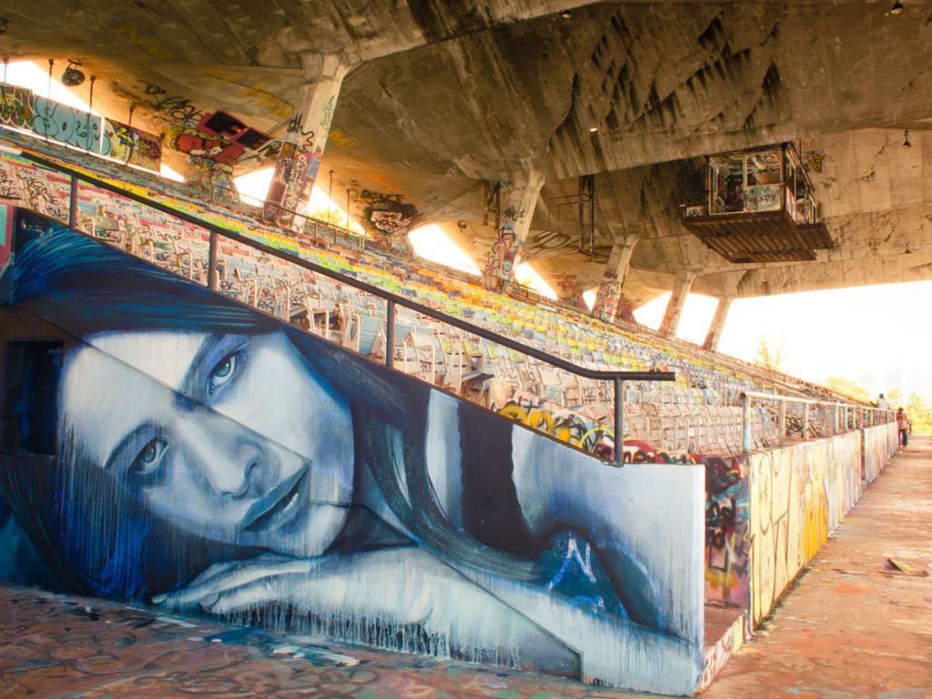 Rone street art Miami
