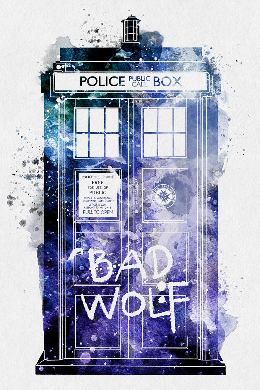 Tardis Bad Wolf