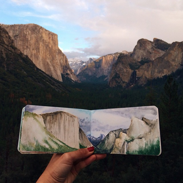 Yosemite National Park, Kalifornie