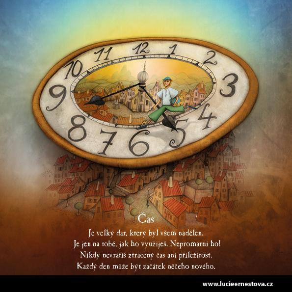 Lucie Ernestová inspirační karty Cesta k sobě Čas