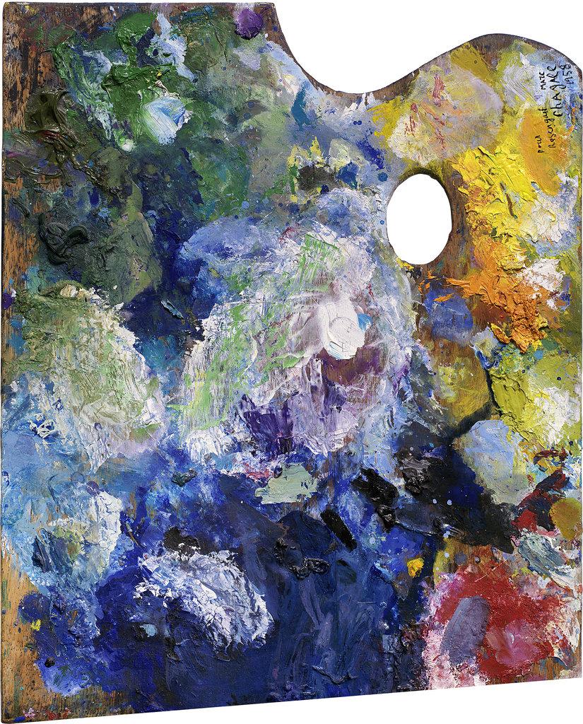 Malířské palety slavných jako odraz jejich umění
