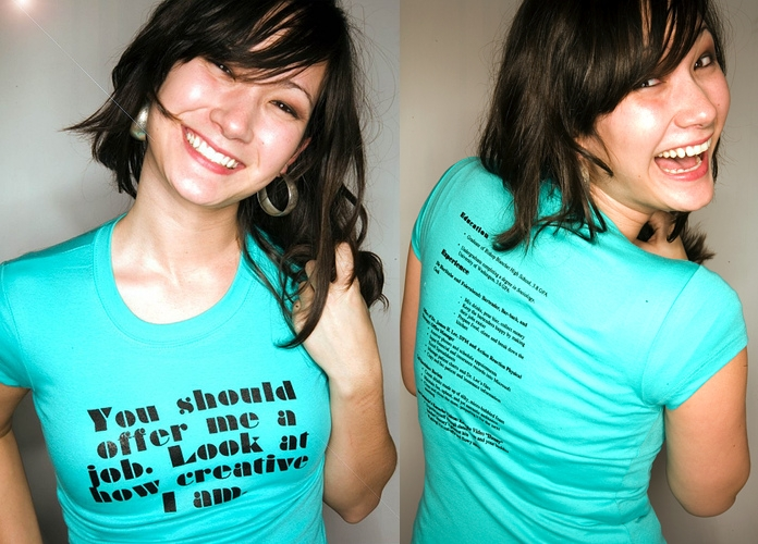 resume-t-shirt