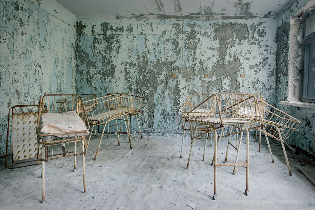 Nové fotografie Černobylu 29 let po havárii