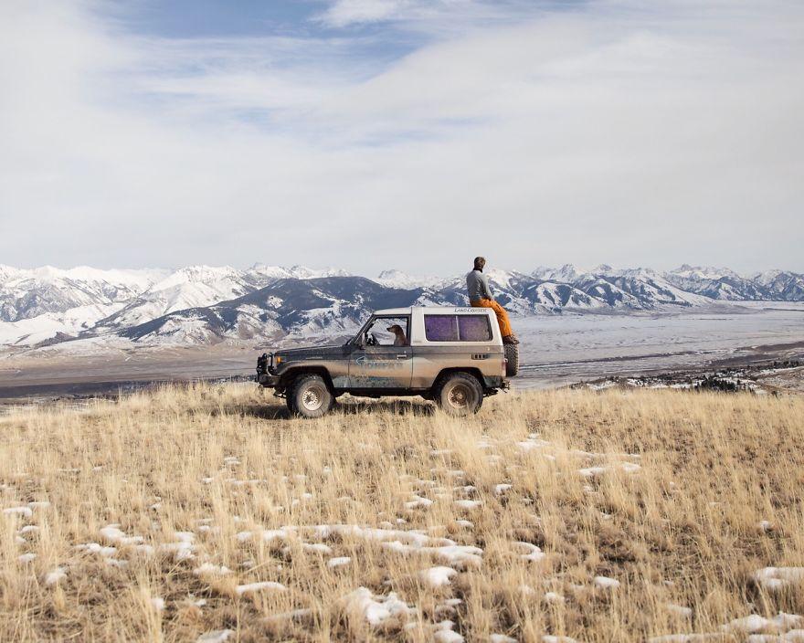 """""""V horách se cítíme jako doma..."""" / Montana"""