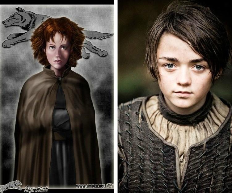 Arya Stark / Amoka