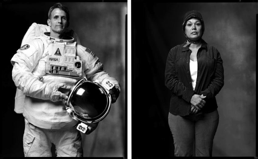 Astronat a Unešená mimozemšťany