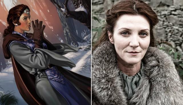 Catelyn Stark / Mark Evans
