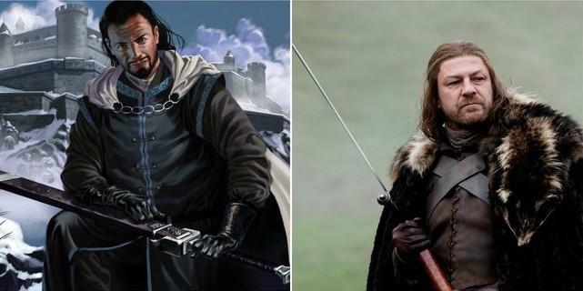 Eddard Stark / Mark Evans