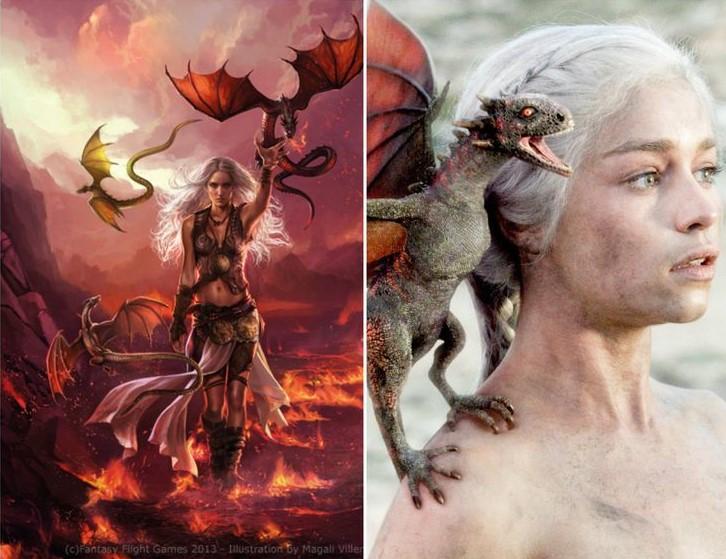 Daenerys Targaryen / Magali Villeneuve