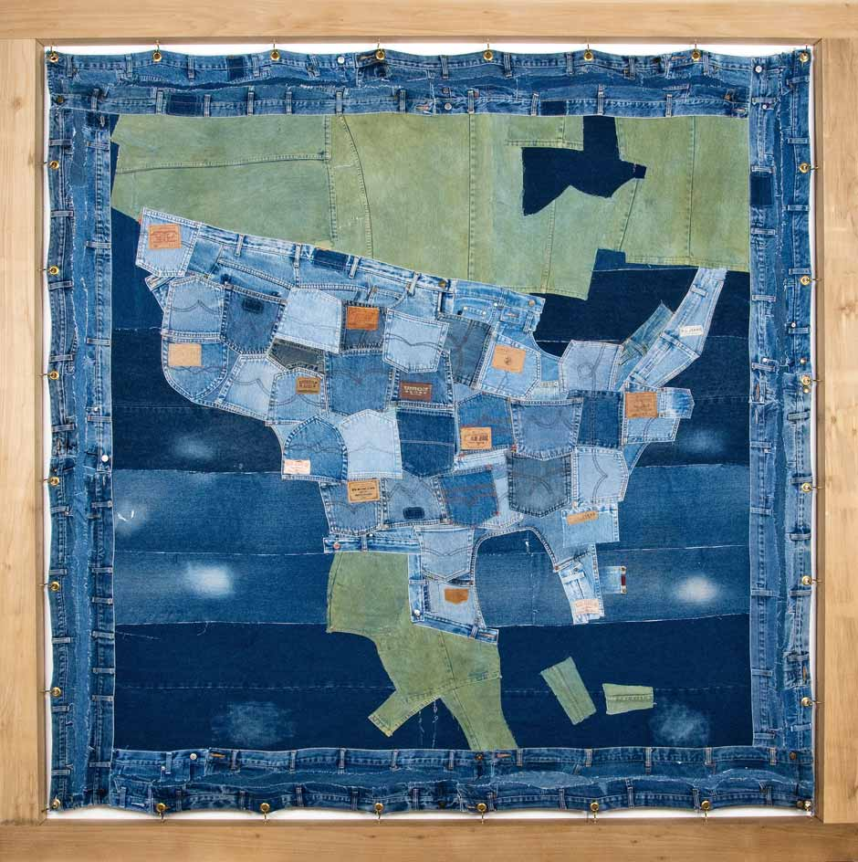 Ann Carrington - Blue Jeans, USA, Amerika