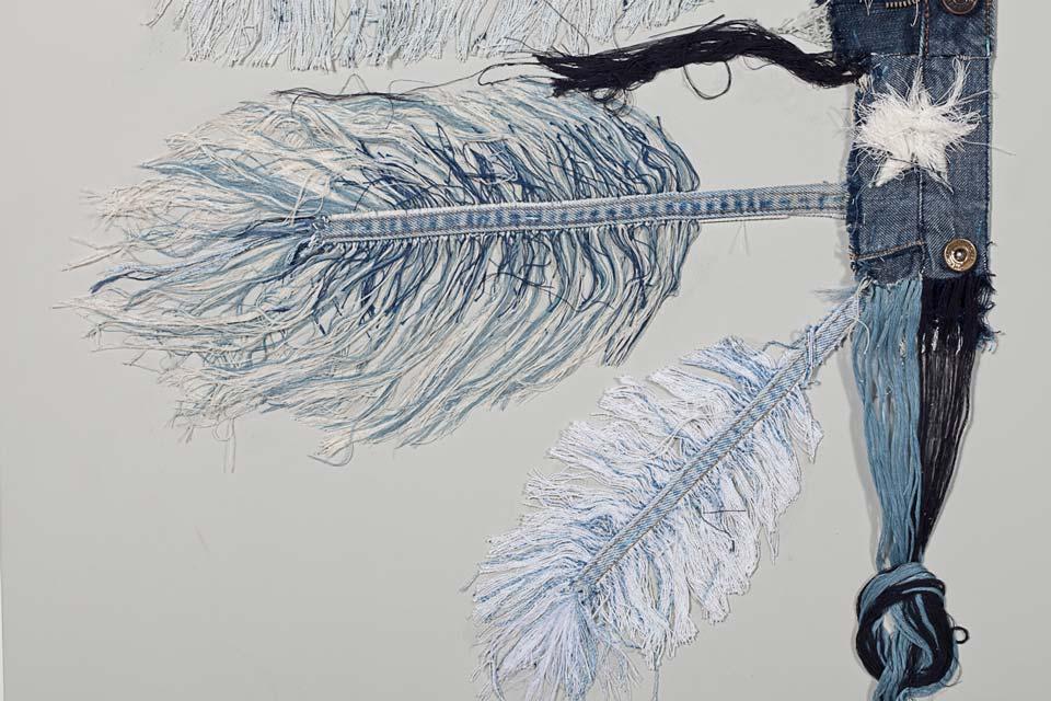 Ann Carrington - Blue Jeans, USA, Amerika, Mohawk, Indiáni