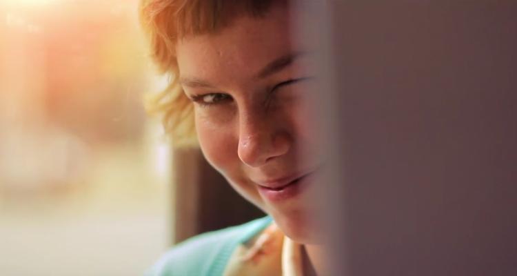 Carlos Lascano - Lila, krátký film beze slov, láska, anděl, radost, kreslení