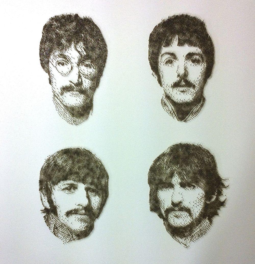 David Foster - Detailní obrazy z hřebíků, The Beatles