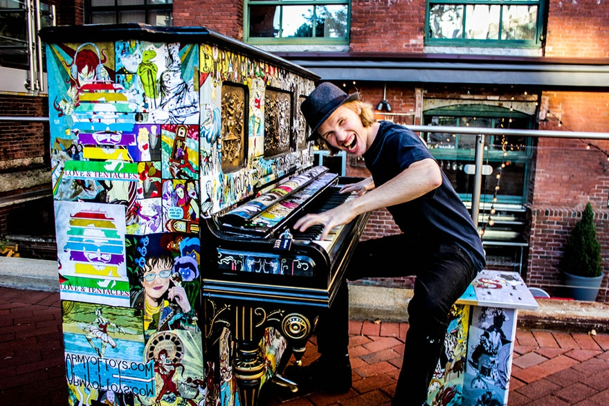 uliční klavír