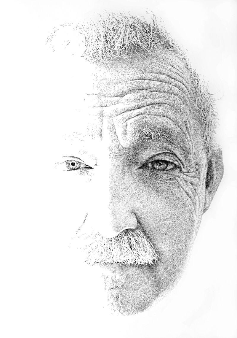 Pablo Jurado Ruiz - realistický pointilismus