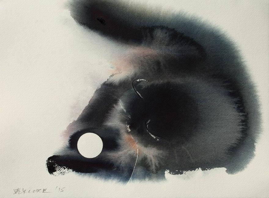 watercolor-cats-ink-paitings-endre-penovac-20