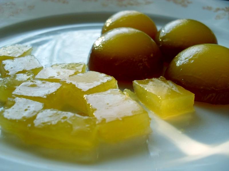 DIY recept želatinové bonbony