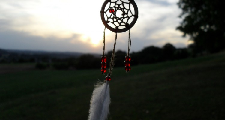 DIY - lapač snů, dreamcatcher