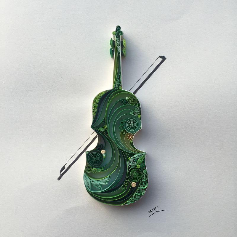 Sena Runa - Quilling, umění krouceného papíru