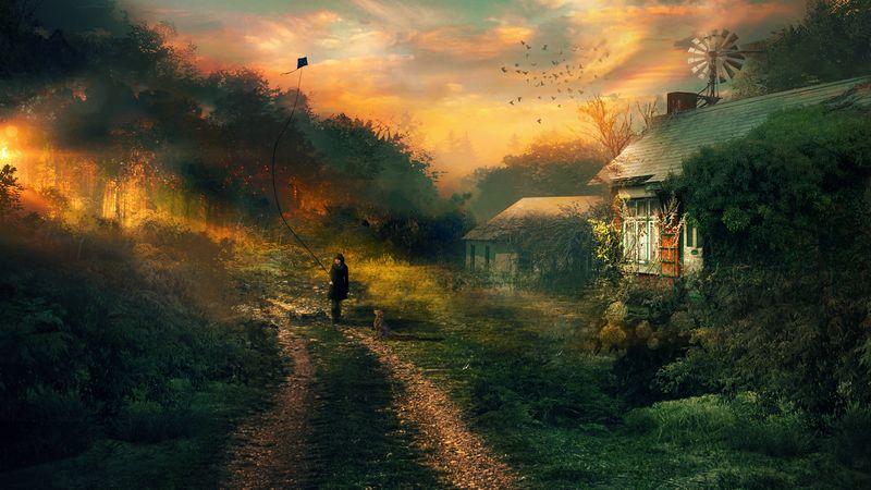 Martina Stipan: Kouzelné fantasy digitální obrazy, digitální umění