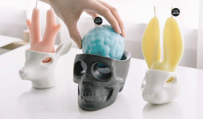 The Jacks - designérské plačící svíčky