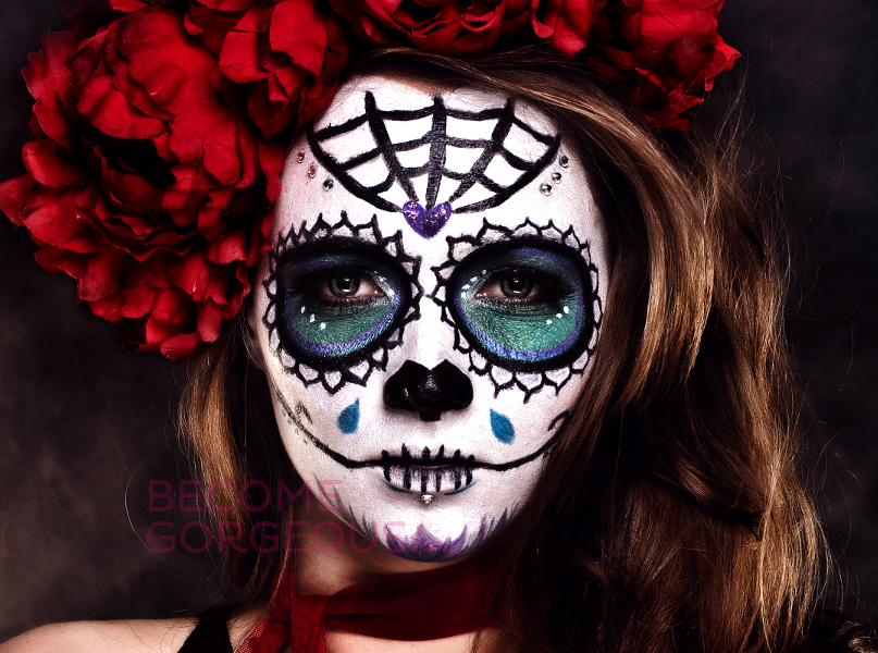 halloween-sugar-skull-makeup-design