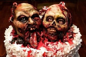 Děsivé Halloweenské dorty