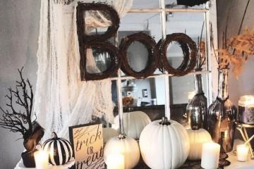 Inspirace pro Halloweenské dekorace do bytu